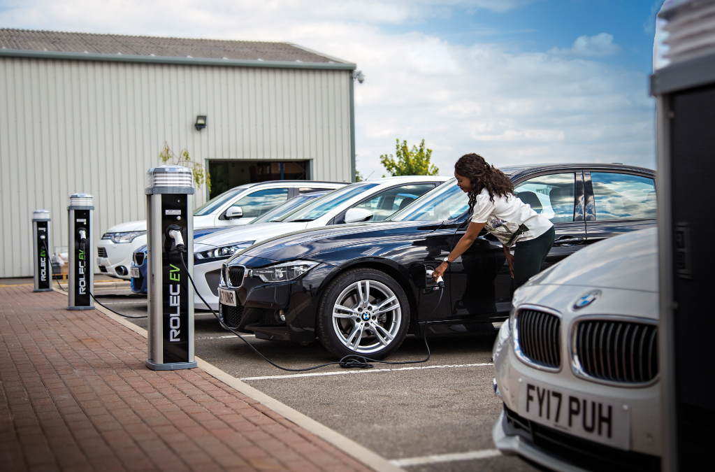 Installing an electric vehicle charging point at your home or office